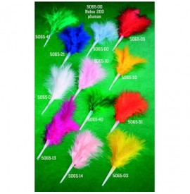 Plumas colores