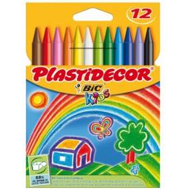 PLASTIDECOR BIC KIDS 12 UN