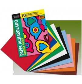 Charol (papel) pack 10...