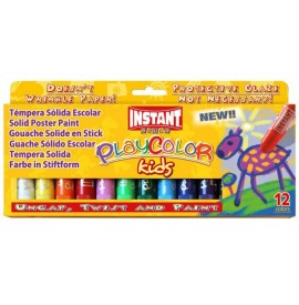 TEMPERA SOLIDA PLAYCOLOR 12...
